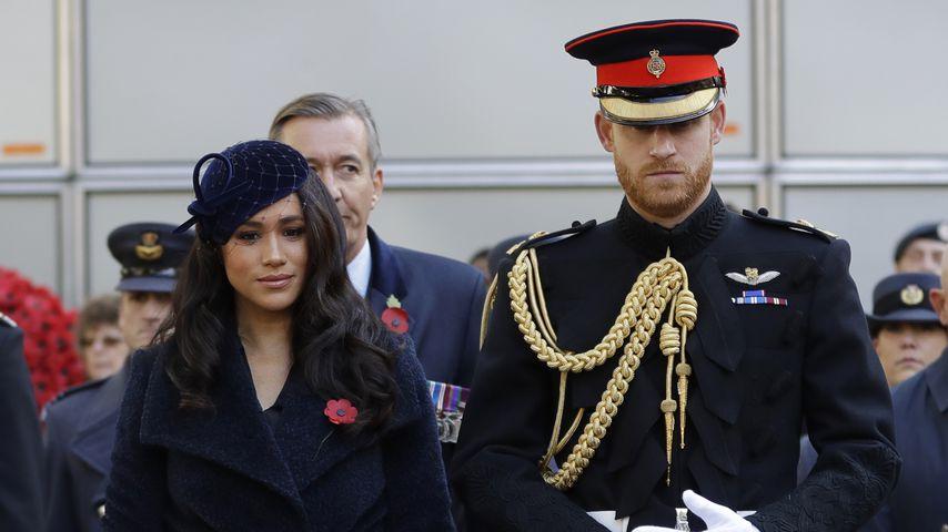 Herzogin Meghan und Prinz Harry in London im November 2019