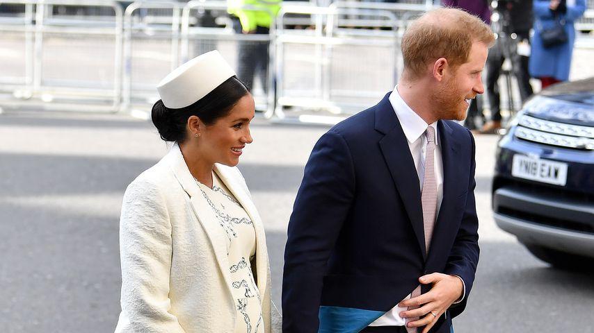 Herzogin Meghan und Prinz Harry im April 2019