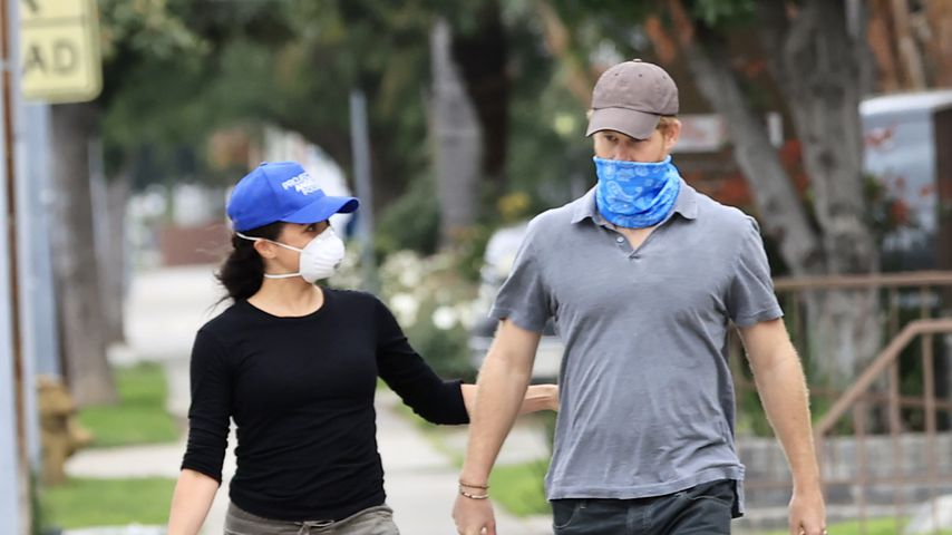 Herzogin Meghan und Prinz Harry in Los Angeles, April 2020