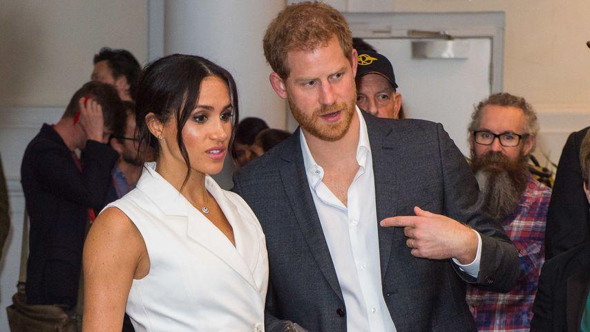 Herzogin Meghan und Prinz Harry in Wellington, Neuseeland