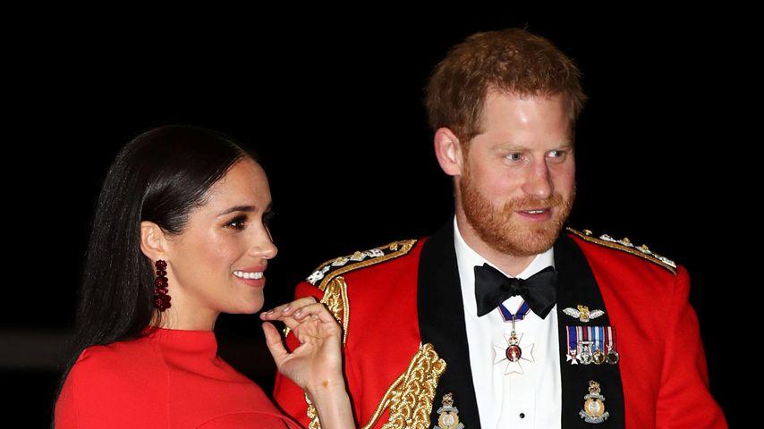 Herzogin Meghan und Prinz Harry beim Mountbatten Music Festival