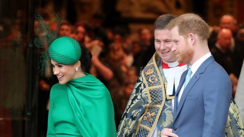 Herzogin Meghan und Prinz Harry am Commonwealth Day 2020