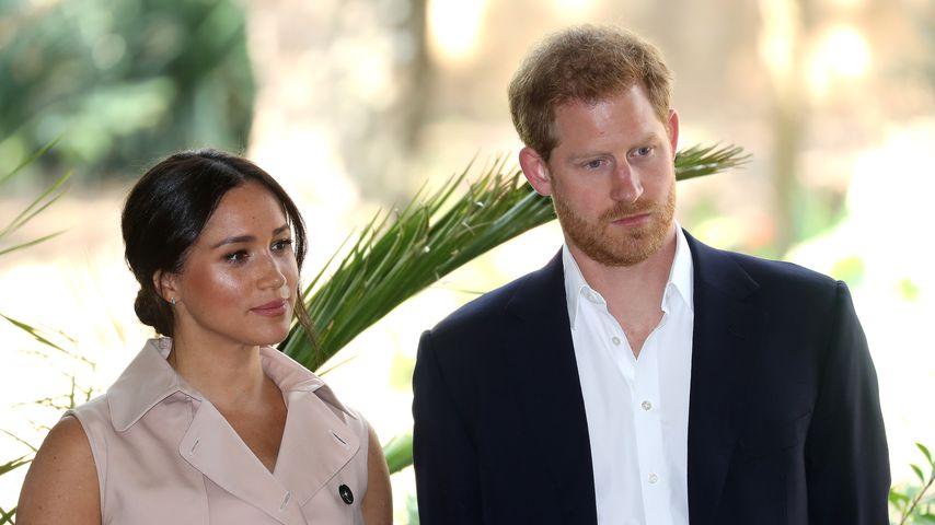 Herzogin Meghan und Prinz Harry in Johannesburg