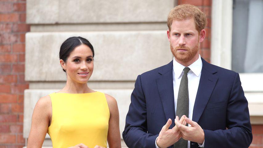 "Herzogin Meghan und Prinz Harry beim ""Your Commonwealth Youth Challenge""-Empfang"