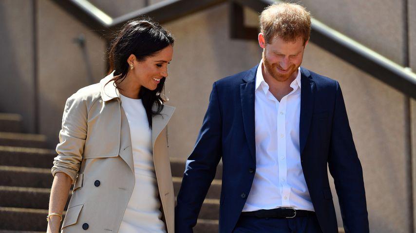 Herzogin Meghan und Prinz Harry am Sydney Opera House