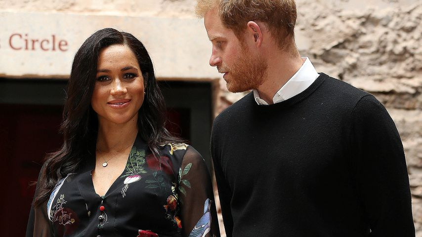 Herzogin Meghan und Prinz Harry im Februar 2019