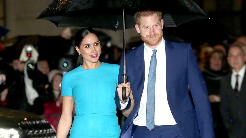 Herzogin Meghan und Prinz Harry, März 2020