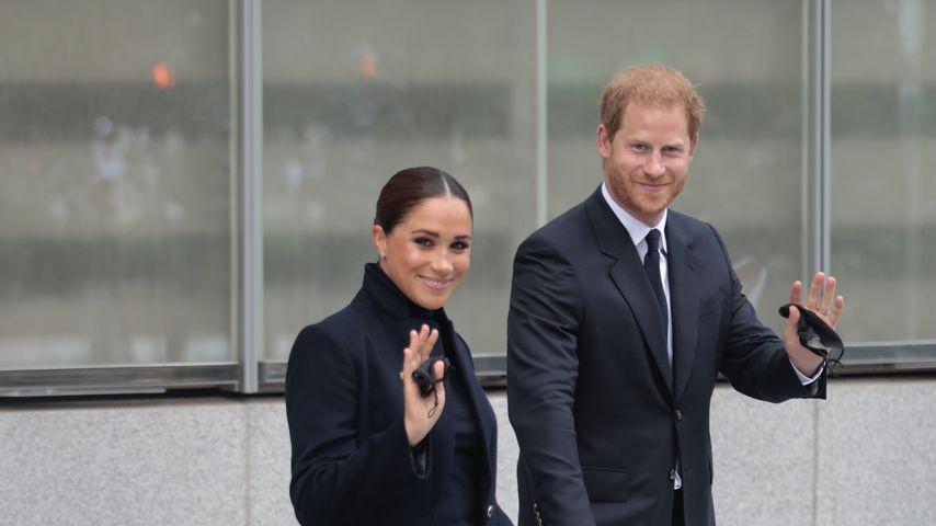Herzogin Meghan und Prinz Harry in New York, September 2021