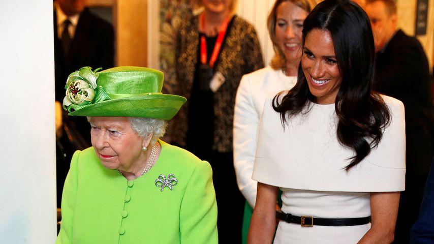 Genau wie die Queen: Herzogin Meghan wird mit 37 Jahren Mama