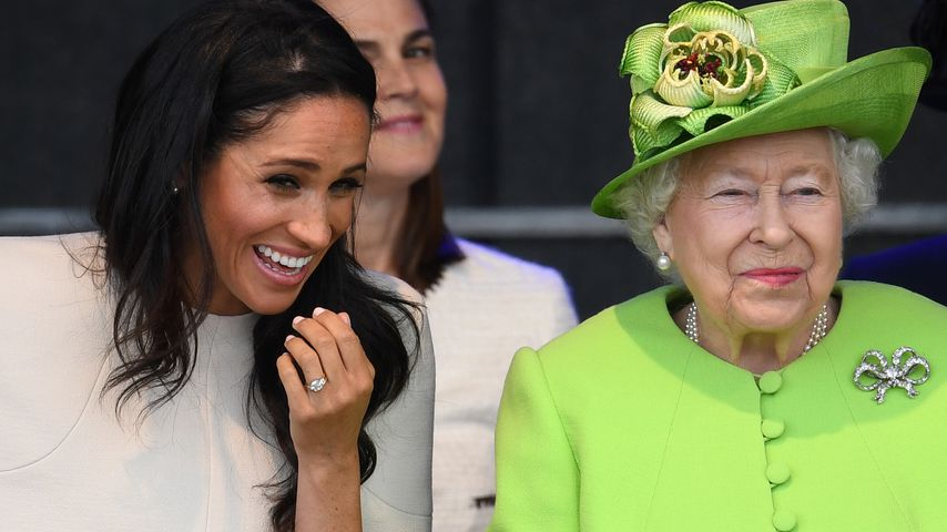 Nach Hochzeit mit Harry: So nennt Herzogin Meghan die Queen