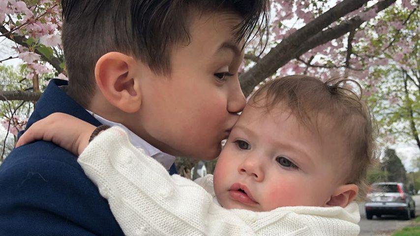 Hilarie Burton und Jeffrey Dean Morgans Kinder Augustus und George