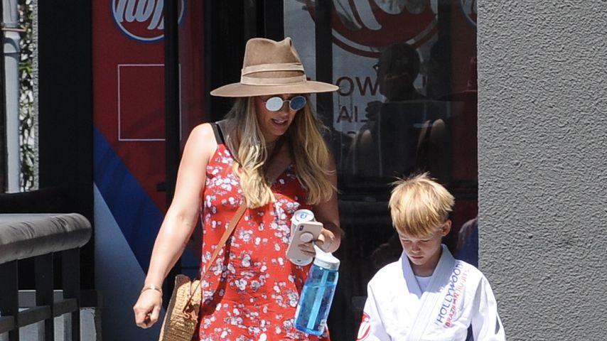 Hilary Duff und ihr Sohn Luca Cruz Comrie