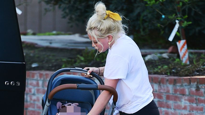 Hilary Duff und Baby Banks in Los Angeles