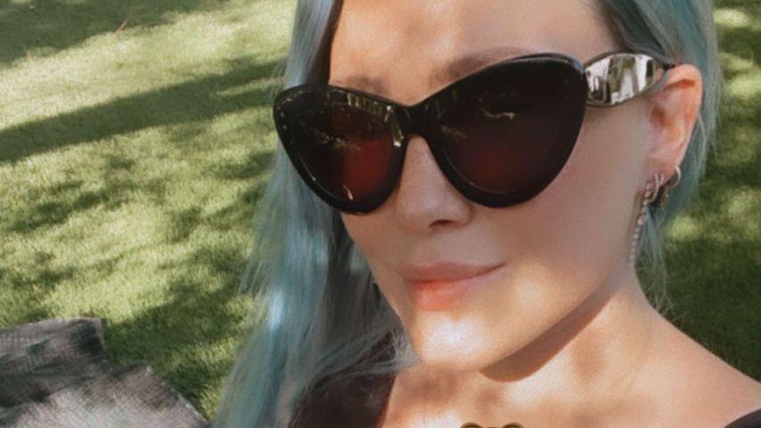 Hilary Duff mit ihrer Tochter