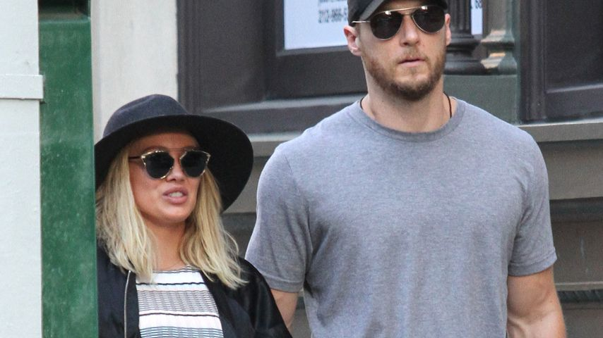 Hilary Duff mit Jason Walsh in Manhattan