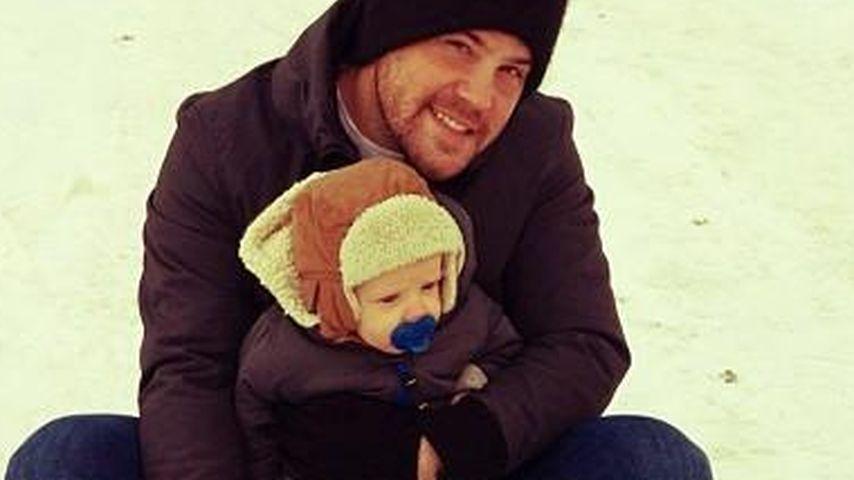 Hilary Duffs Söhnchen: 1. Ausflug in den Schnee!