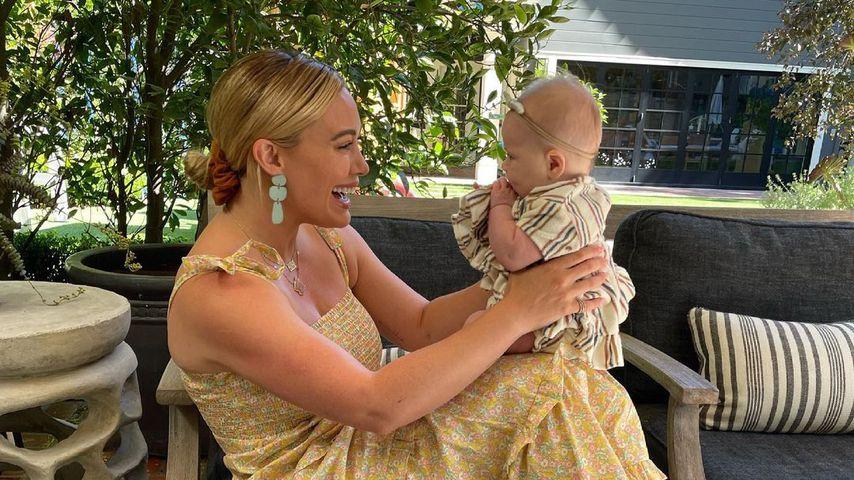 Hilary Duff und ihre Tochter Mae