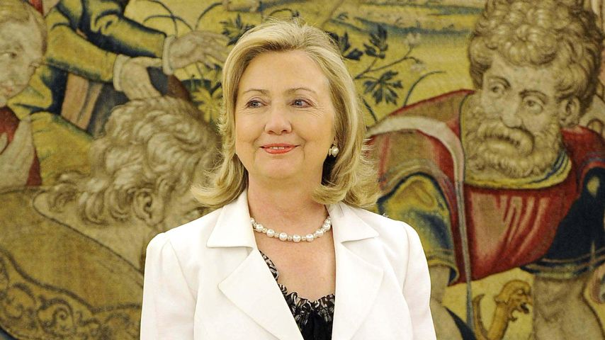 Hilary Clinton, Frau des ehemaligen US-Präsidenten