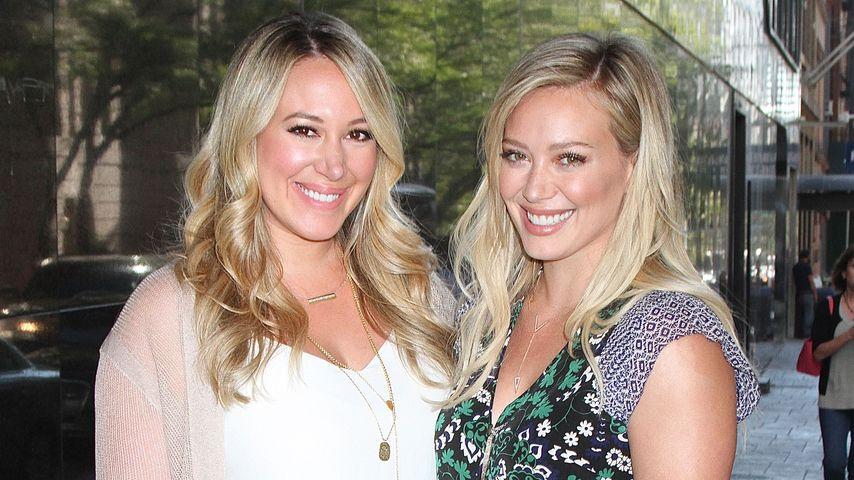 Hilary und Haylie Duff: Kinderfreier Schwestern-Tag!
