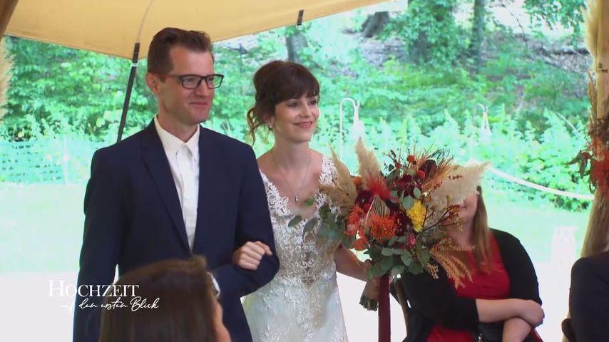 """""""Hochzeit auf den ersten Blick""""-Braut Annika mit ihrem Onkel"""