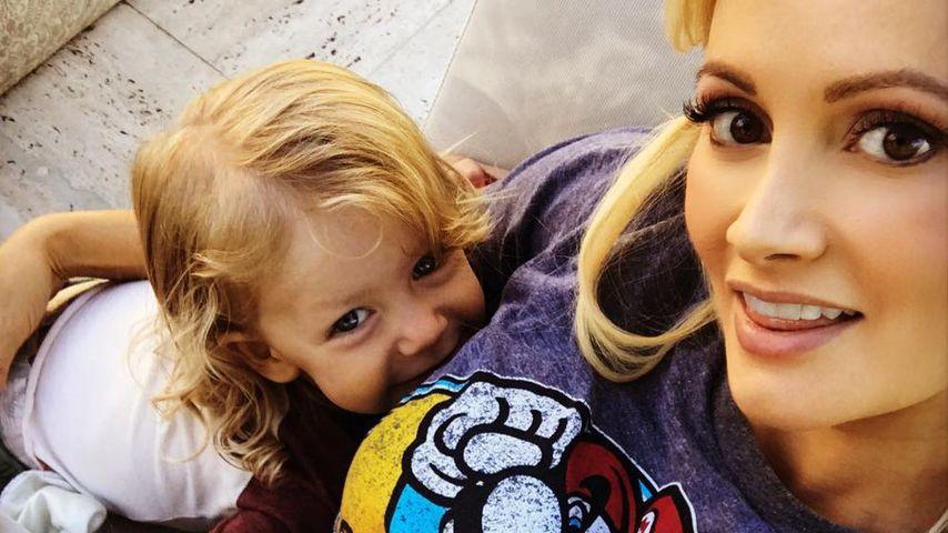 Holly Madison mit ihren Kindern