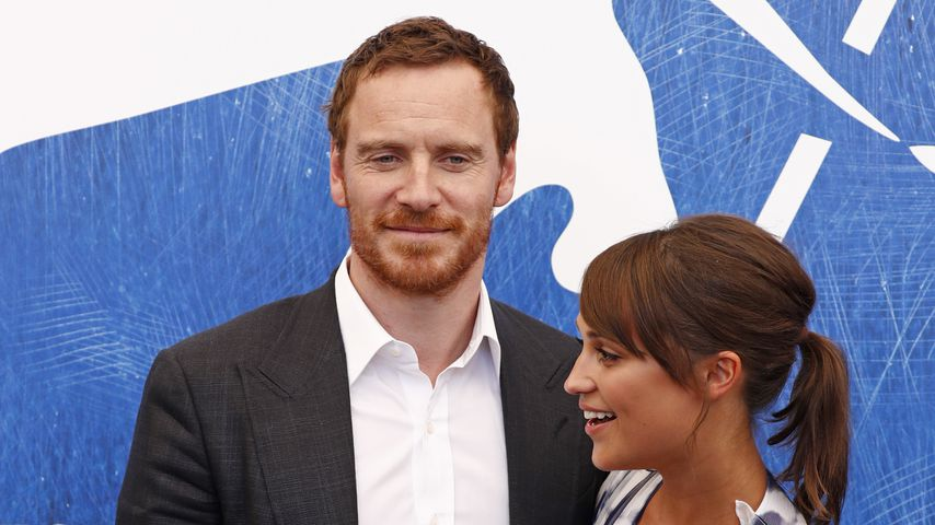 Hollywoodpaar Michael Fassbender und Alicia Vikander