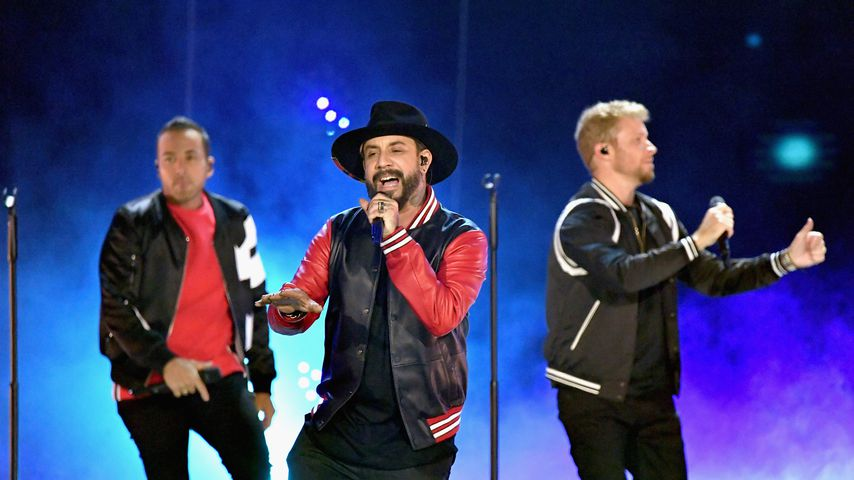 Howie Dorough, AJ McLean und Brian Littrell von den Backstreet Boys