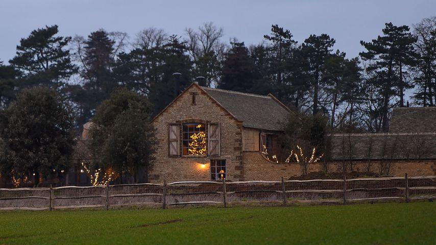 Das Häuschen der Beckham-Familie an Weihnachten