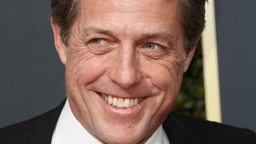 Hugh Grant bei den 75. Golden Globes in Beverly Hills