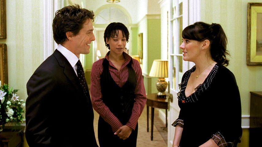 """Hugh Grant und Martine McCutcheon in """"Tatsächlich... Liebe"""""""
