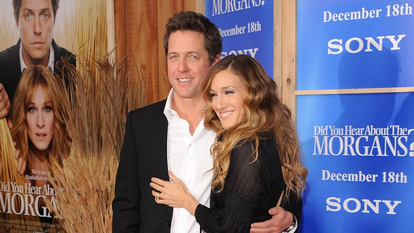 Hugh Grant und Sarah Jessica Parker im Dezember 2009 in New York City