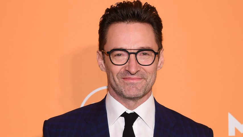 Hugh Jackman in New York City, 2020