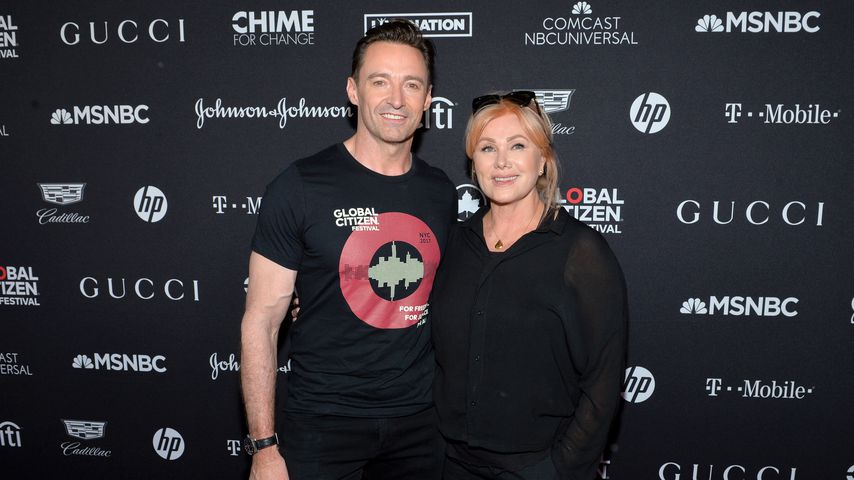 Hugh Jackman und Deborra-Lee Furness beim Global Citizen Festival 2017