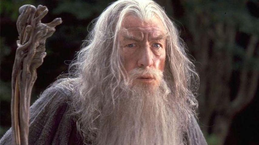 """Ian McKellen als Gandalf der Graue in """"Herr der Ringe"""""""