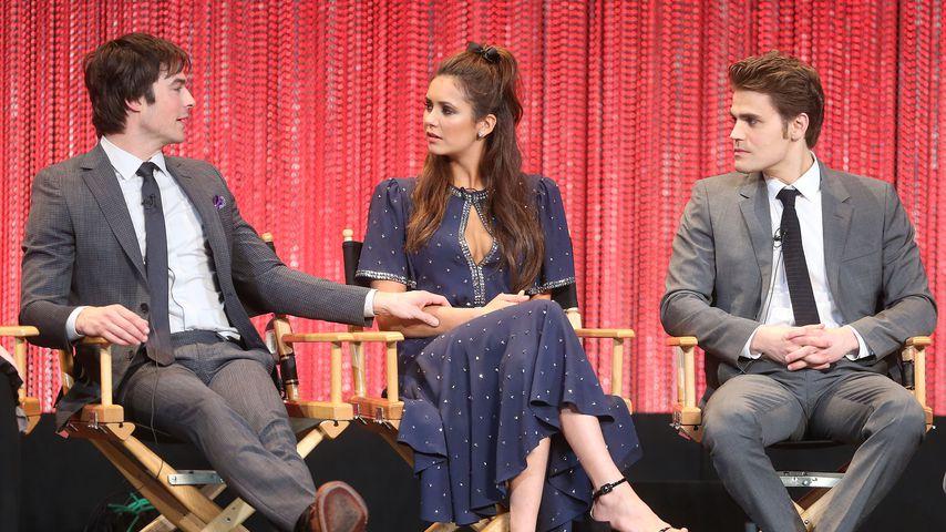 Ian Somerhalder, Nina Dobrev und Paul Wesley beim PaleyFest, 2014
