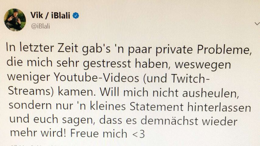 iBlalis Tweet