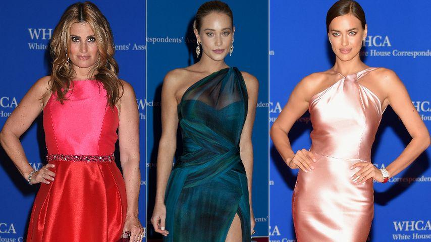 Metallisch & glänzend: Der Roben-Trend der Hollywood-Ladys