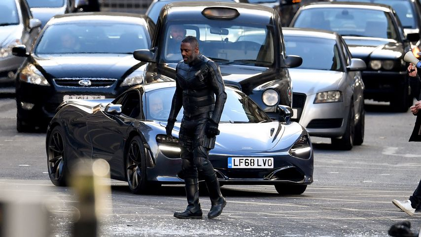 """Idris Elba am Set vom """"Fast & Furious""""-Spin-Off """"Hobbs And Shaw"""""""