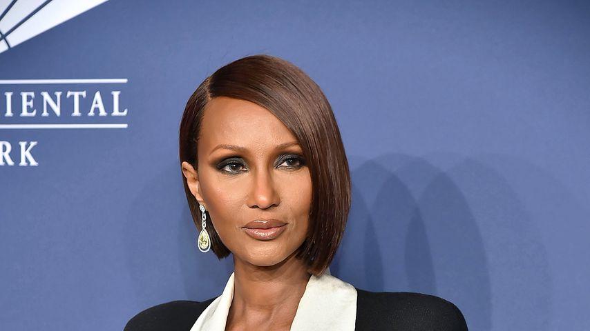Model Iman in New York, 2020