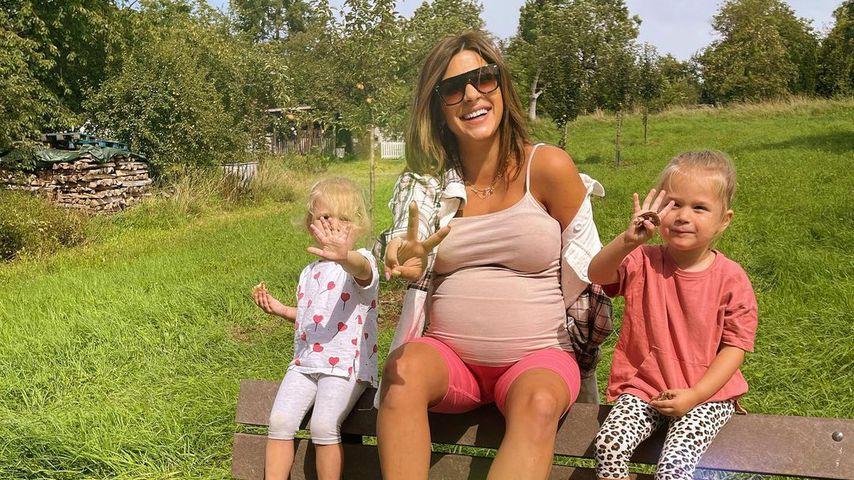 Inci Sencer mit ihren beiden Töchern Neyla und Mila