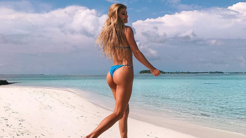 Heiße Knack-Po-Show: So sexy urlaubt Insta-Star Pamela Reif