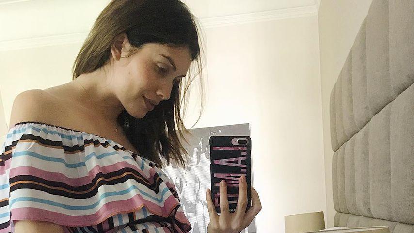 Hochschwangere Ex-GNTM Ira Meindl: Kann es kaum erwarten!