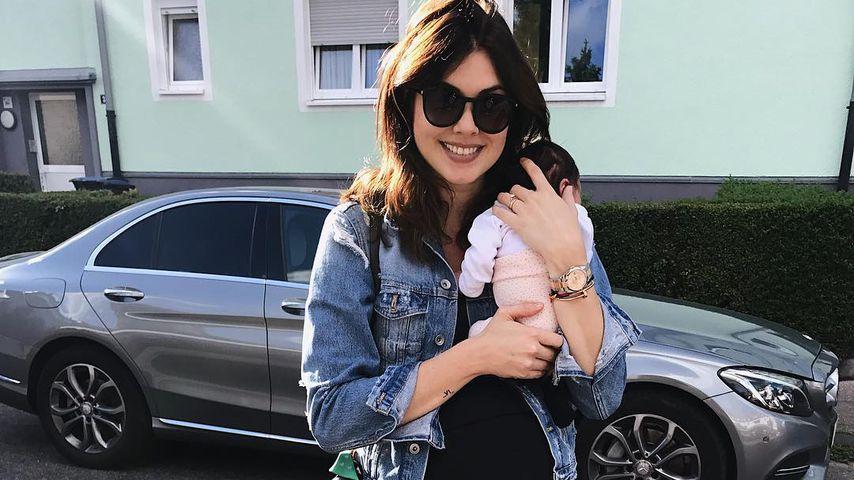 Familientag bei Ira Meindl: Süßer Ausflug mit Baby Emilia!