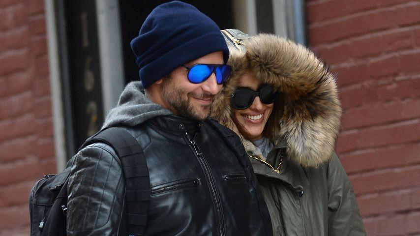 Bloß ein Irrtum? Bradley Cooper & Irina Shayk Hand in Hand!