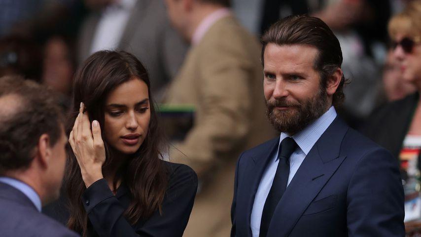 Irina Shayk und Bradley Cooper bei einem Wimbledon-Spiel