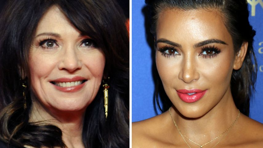 Make-up à la Kim Kardashian? Iris Berben findet's ätzend!