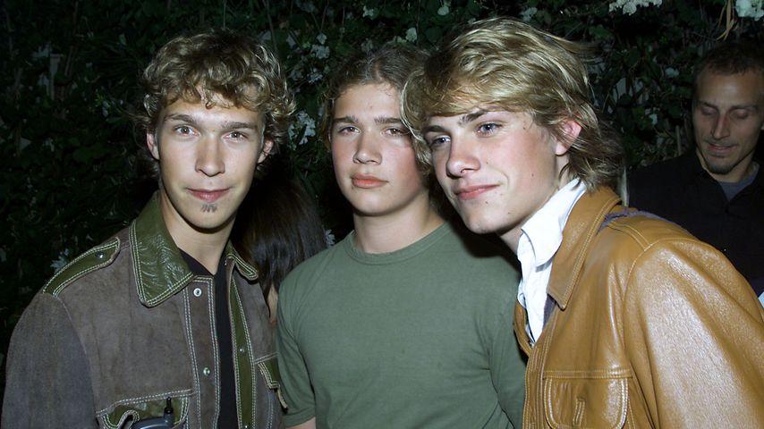 Isaac, Zac und Taylor Hanson bei den MTV Movie Awards 2001
