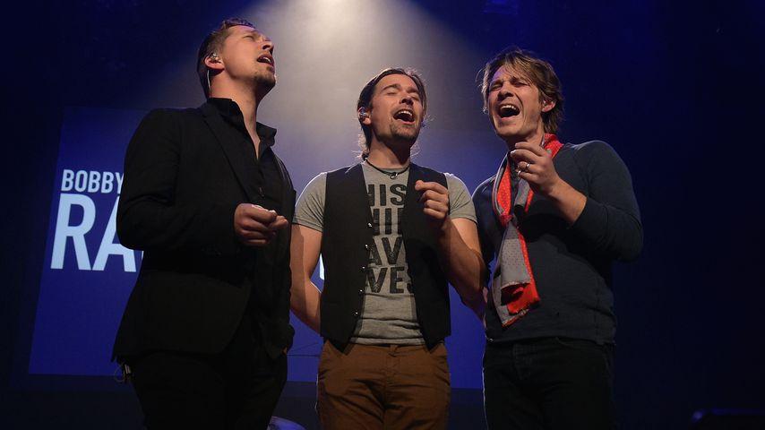 Isaac, Zac und Taylor Hanson in Nashville im Januar 2018