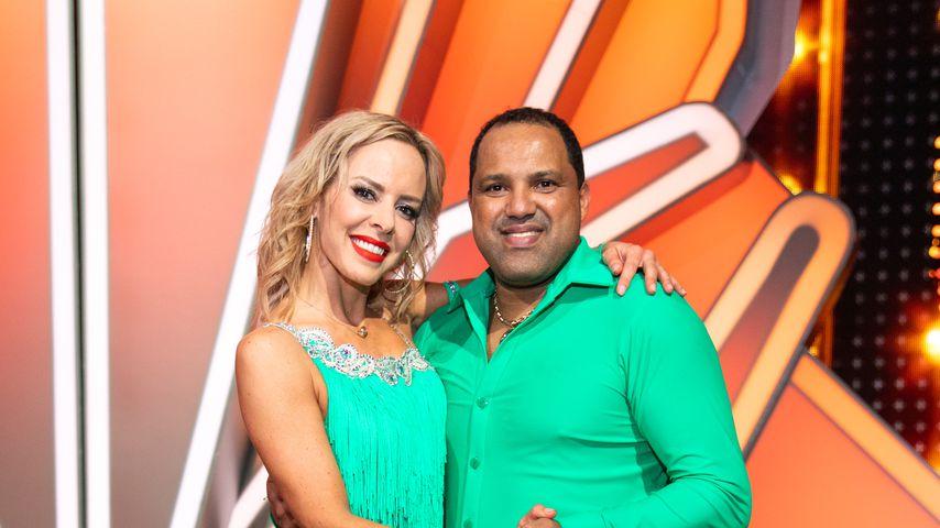 """Isabel Edvardsson und Ailton bei """"Let's Dance"""" 2020"""