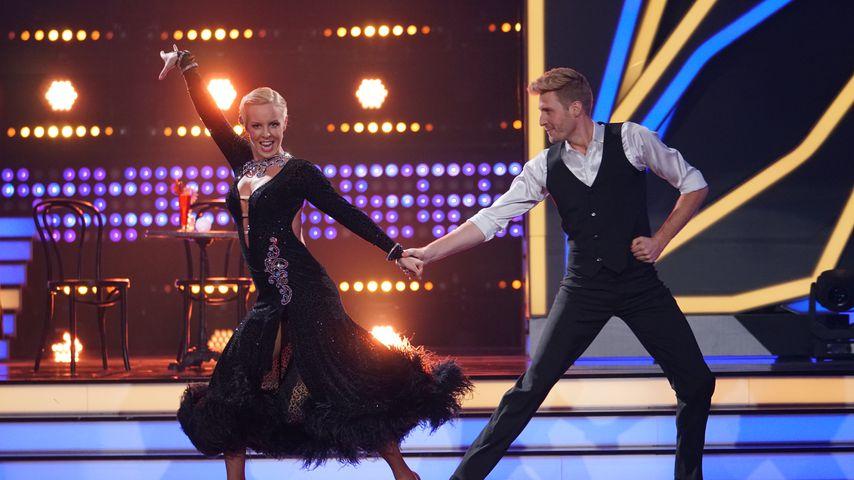 "Isabel Edvardsson und Maximilian Arland bei ""Let's Dance"" 2017"
